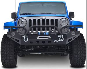 No. 9 Front Bumper for Jeep Wrangler 07+ pictures & photos