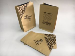 Stand up Ziplock Paper Tea Bag pictures & photos