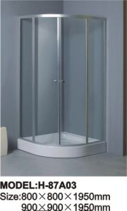 Sanitary Ware Shower Enclosure with Tempered Glass pictures & photos