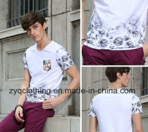 Round-Neck T-Shirt, Fashion T Shirt, Printing Cotton T-Shirt pictures & photos