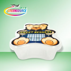Safety in Mold Labeling for Children Food Container pictures & photos