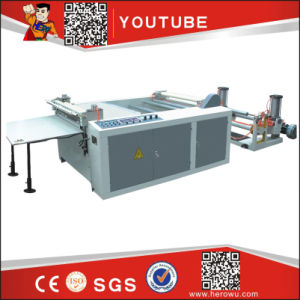 Hero Brand High-Precision Computerized Transverse Paper and Non Woven Cutting Machine pictures & photos