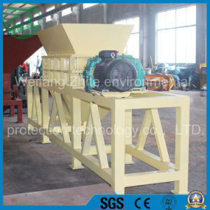Double Shaft Shredder for Animal Bone/Scrap Metal/Plastic/Rubber/Tire/Foam/Kitchen Garbage/Wood/Solid Waste pictures & photos
