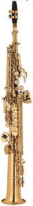 Matte Gold Lacquer Soprano Saxophone