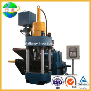 Hydraulic Metal Chip Briquette Press Machine with High Quality (SBJ-500) pictures & photos