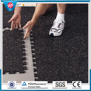 Gym Rubber Tile/Kindergarden Rubber Tile/Playground Rubber Tiles pictures & photos