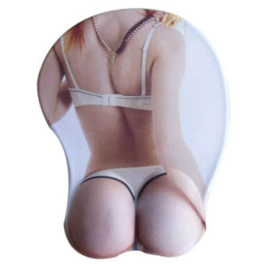 3D Breast Busty Sexy Woman Gel Gaming Mouse Pad pictures & photos