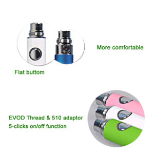 Amazing Style Evod Battery with High Quality and Wholesale Factory Price