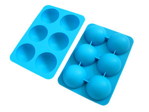 Eco-Friendly Colorful Customized Logo Ice Cube Tray pictures & photos