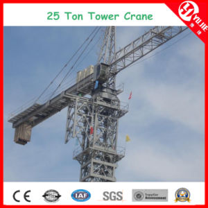 Tc8031 Max Load 25 Ton Large Capacity Tower Crane at 80m Height pictures & photos