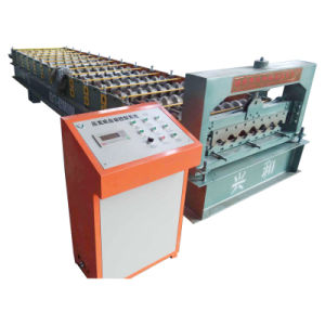 Color Coating Roof Panel Tile Making Machine pictures & photos
