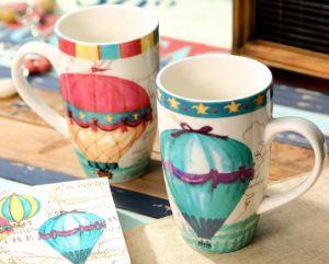 Beautiful Porcelain Cup Coffee Mug Creative Pattern Gift China Cup China Mug pictures & photos