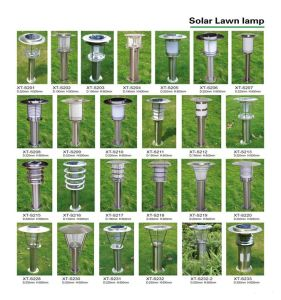 Modern Look Solar Lawn Lamp pictures & photos