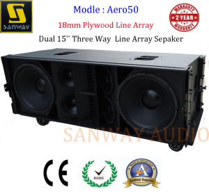 Aero 50 Dual 15′′ Three Way Passive Line Array Sepaker pictures & photos