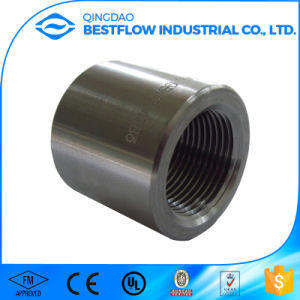 Black Carbon Steel Forged Pipe Fitting pictures & photos