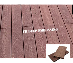 Supply Anti-UV Co-Extruded WPC Decking pictures & photos