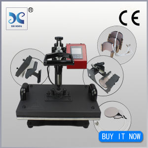 Manufacturer Supply 8 in 1 Combo Heat Press Machine for Sale pictures & photos