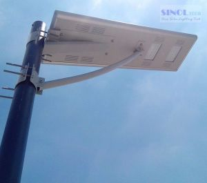All in One Integrated 25W LED Solar Street Light with Ce pictures & photos