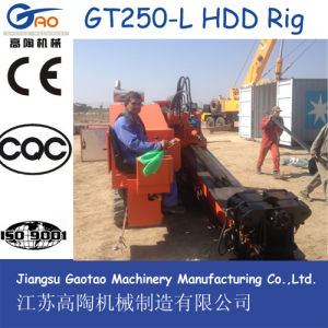 25t Horizontal Directional Driller for Underground Cable/Water/Gas Pipe Laying pictures & photos