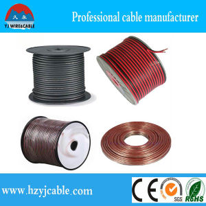PVC Insulation Red &Black Copper Clad Aluminum Conductor Speaker Cable pictures & photos