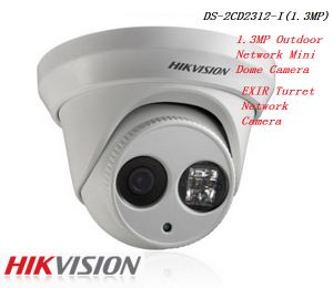 Hikvision 1.3MP Outdoor Network Mini Dome Camera High Resolution Poe IP Camera (Ds-2CD2312-I) pictures & photos