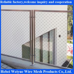 Stainless Steel Rope Mesh Fence pictures & photos