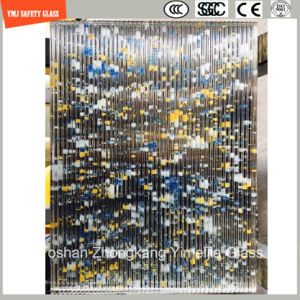 4-19mm Safety Construction Glass, Hot Melting Decorative Pattern Glass for Hotel & Home Door/Window/Shower/Partition/Fence with SGCC/Ce&CCC&ISO Certificate pictures & photos
