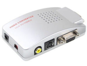VGA to TV Video AV Signal Converter Switch Box pictures & photos
