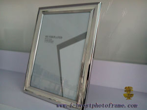 Iron Silver Plated, European Style Photoframe (APM14006)