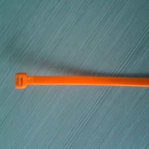 Self-Locking Cable Tie in Orange Color pictures & photos