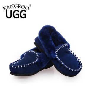 Sheepskin Fashion Women Casual Shoes in Blue for Winter/Autumn pictures & photos
