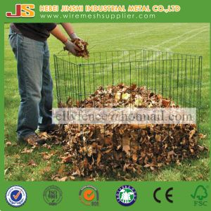 High Quality 90X90X70cm Powder Coated Metal Wire Leaf Composter pictures & photos
