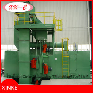 Smartline Roller Conveyor Shot Blasting Machine for Construction Steel pictures & photos