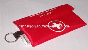Wallet First Aid Kits with Key Ring (HS-033) pictures & photos