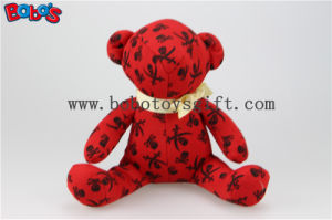 The Halloween Toy Fashion Design Toy Stuffed Teddy Bear Animal with Gold Ribbon pictures & photos