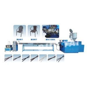 Artificial Plastic Rattan Making Machine pictures & photos