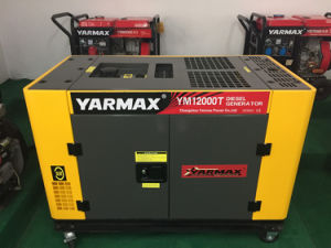 Portable 10 kVA Soundproof Diesel Generator, Water Cooled Generator pictures & photos