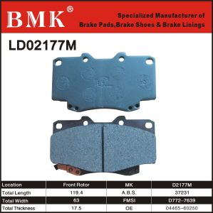 High Quality Brake Pad (D2177M) pictures & photos