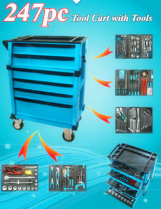 247 Professional Heavy Duty Trolley Tool Set pictures & photos