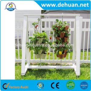 Hanging Basket 3 Tier Flowerpots for Garden Decorative pictures & photos