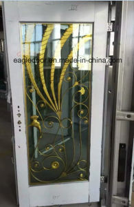 African Stainless Steel Door with Glazing Trim in SUS304 (ES-8079) pictures & photos