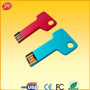 New Style Metal Key Shape USB Flash Drive 2.0