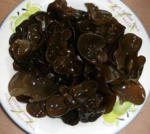 Organic Dried Black Fungus Mushroom pictures & photos