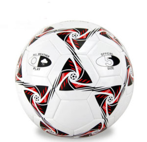 Customized All Size Machine Stitched TPU/PU/PVC Soccer Ball/Football pictures & photos