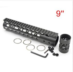 Customed Free Float Quad Rail Keymod Handguard Picatinny Rail 6 Types pictures & photos