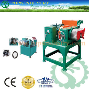 Waste / Scrap Tire Bead Wire Ring Separator / Debeader / Waste Tire Debeader / Used Tire Recycling Machine / Plant pictures & photos