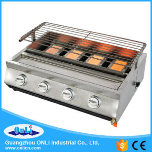 Four Burner Stainless Steel Gas BBQ Grill pictures & photos