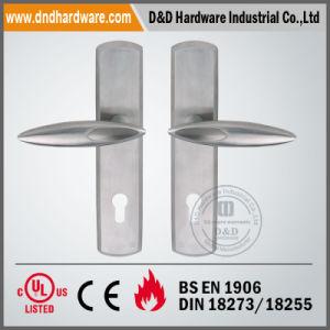 Architectural Hardware Door Handle on Plate for Metal Door pictures & photos