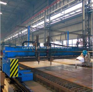 5000mm CNC Oxygen Plasma Flame Straight Strip Beveling Cutter
