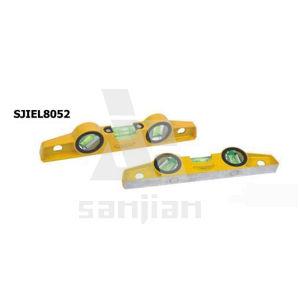 Sjie8051 Aluminum Mini Brige Spirit Level pictures & photos